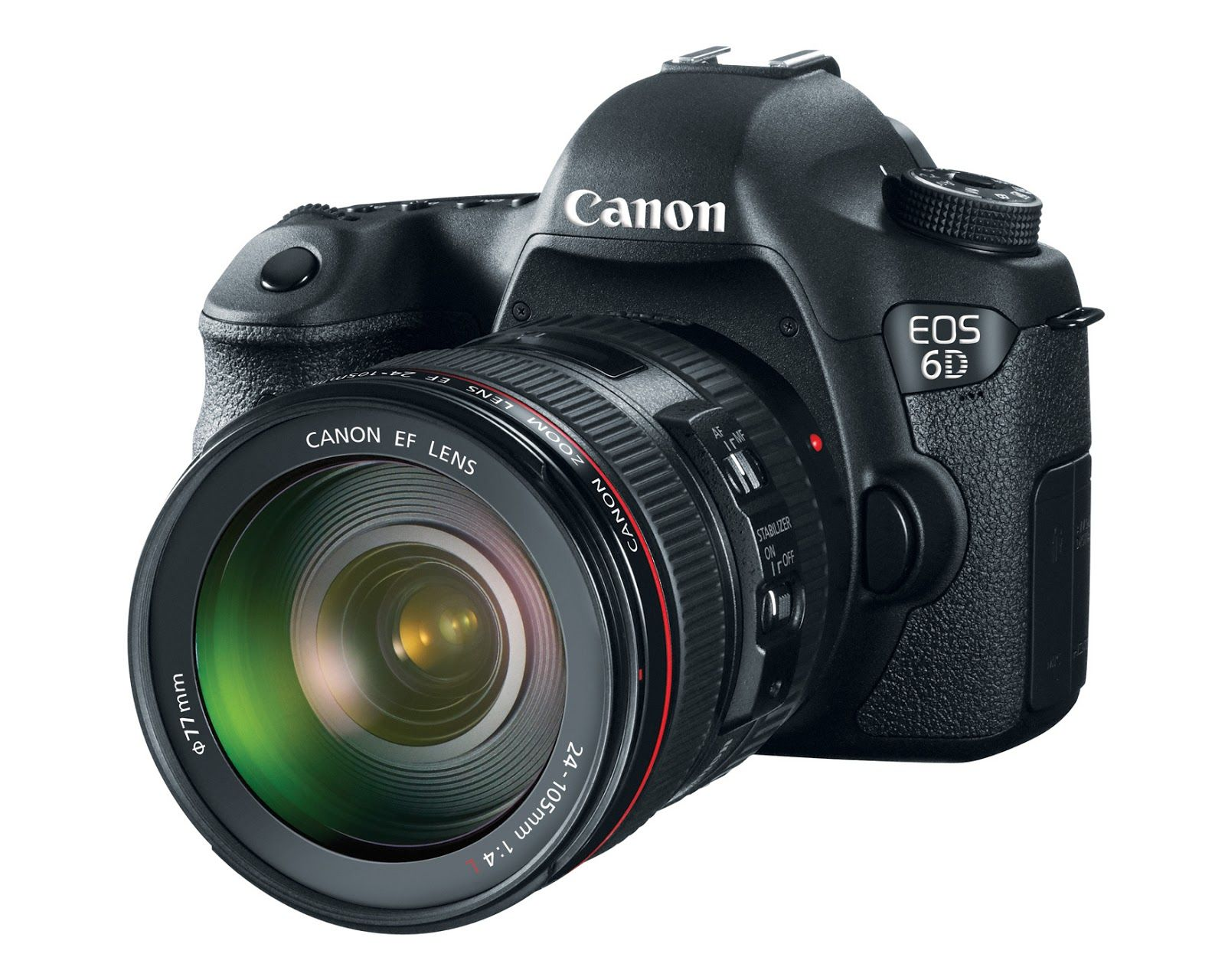 Canon 6D with EF 24-105mm F4 L IS USM