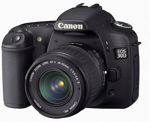 Canon 30D with EF-S 18-55mm IS II LENS KIT