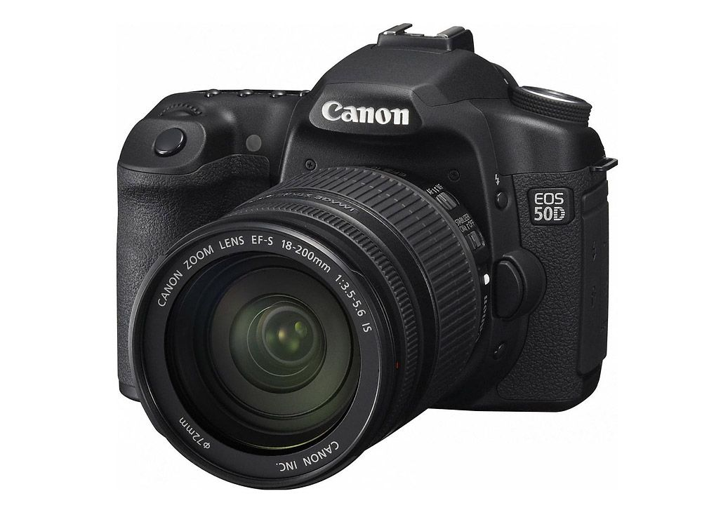 Canon 50D EF-S 18-200mm IS