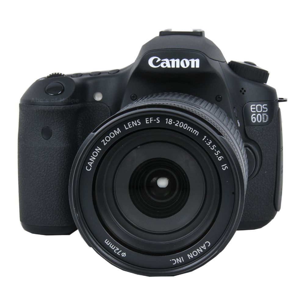 Canon 60D  with 18-200mm F3.5-5.6 IS